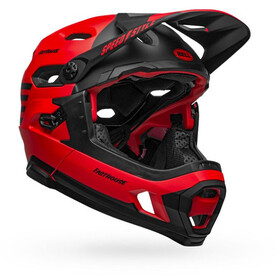 Bell Super DH MIPS Casque, matt/gloss red/black fasthouse